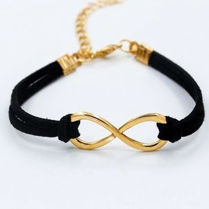 Jewelry - Infinity Leather Bracelet